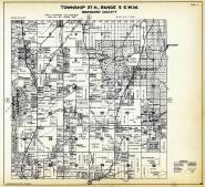 Township 27 N. Range 5 E.W.M., Cathcart, Malby, Alderwood Manor, Grace, Snohomish County 1927
